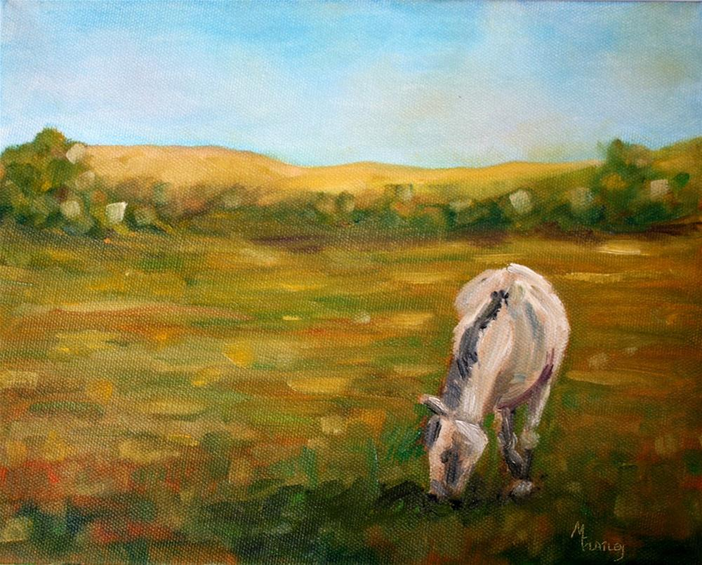 """Just Horsing Around"" original fine art by Maggie Flatley"