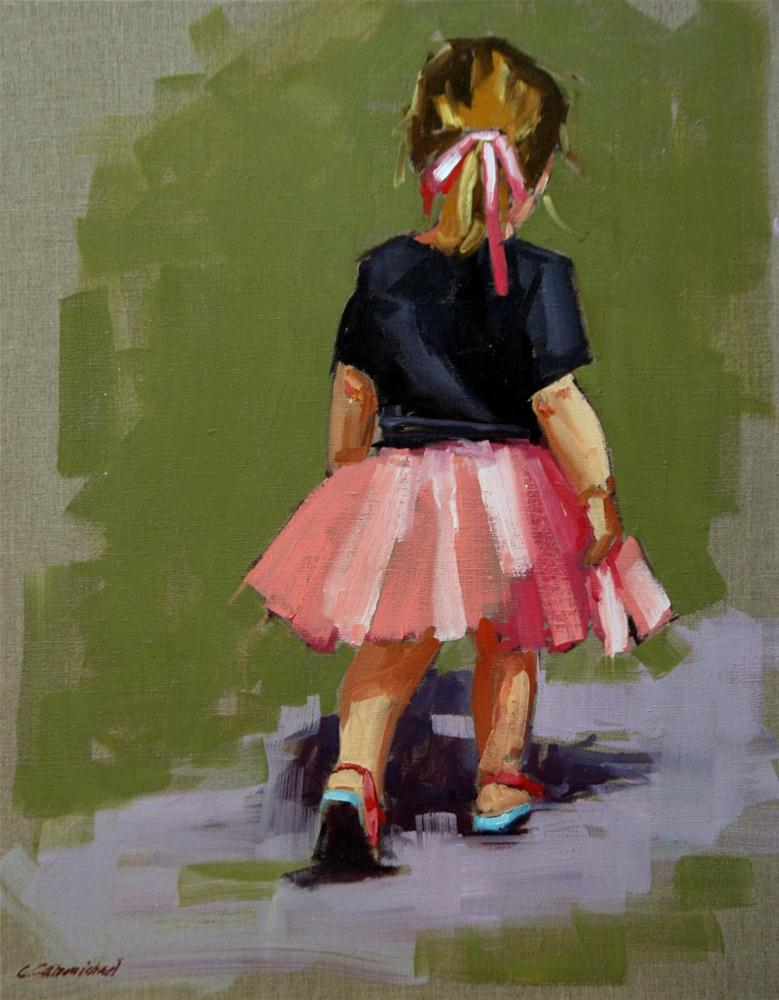 """""""see ya"""" original fine art by Carol Carmichael"""
