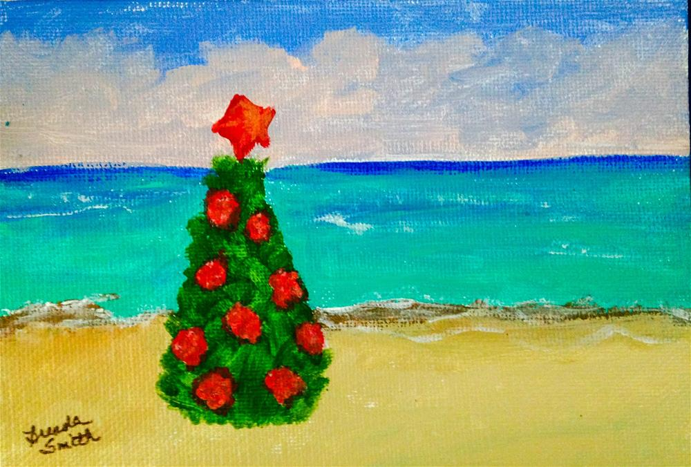 """Christmas Card Project 1"" original fine art by Brenda Smith"