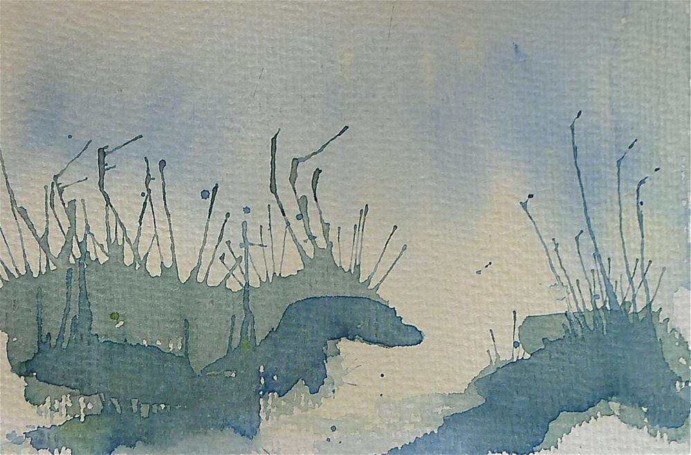 """""""Dünen"""" original fine art by Ulrike Schmidt"""