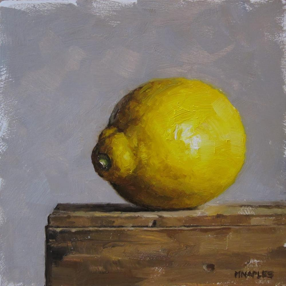 """Facing Left"" original fine art by Michael Naples"