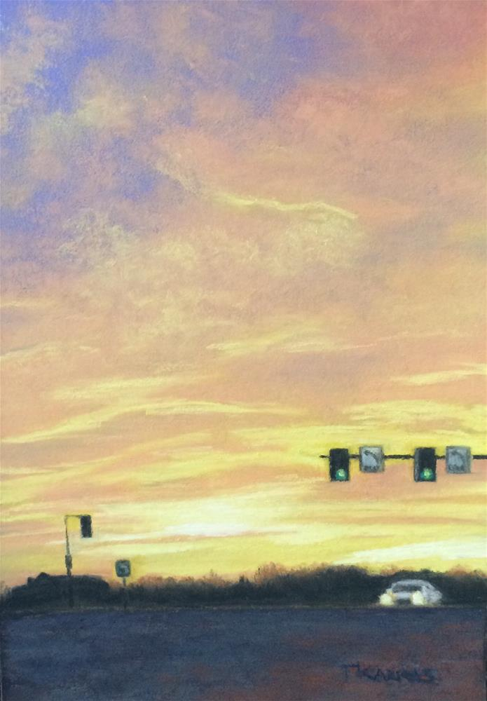 """Almost Home"" original fine art by Christina Karras"