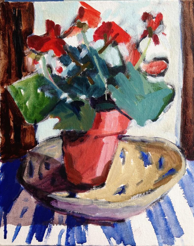 """Inside a Dish"" original fine art by Pamela Hoffmeister"