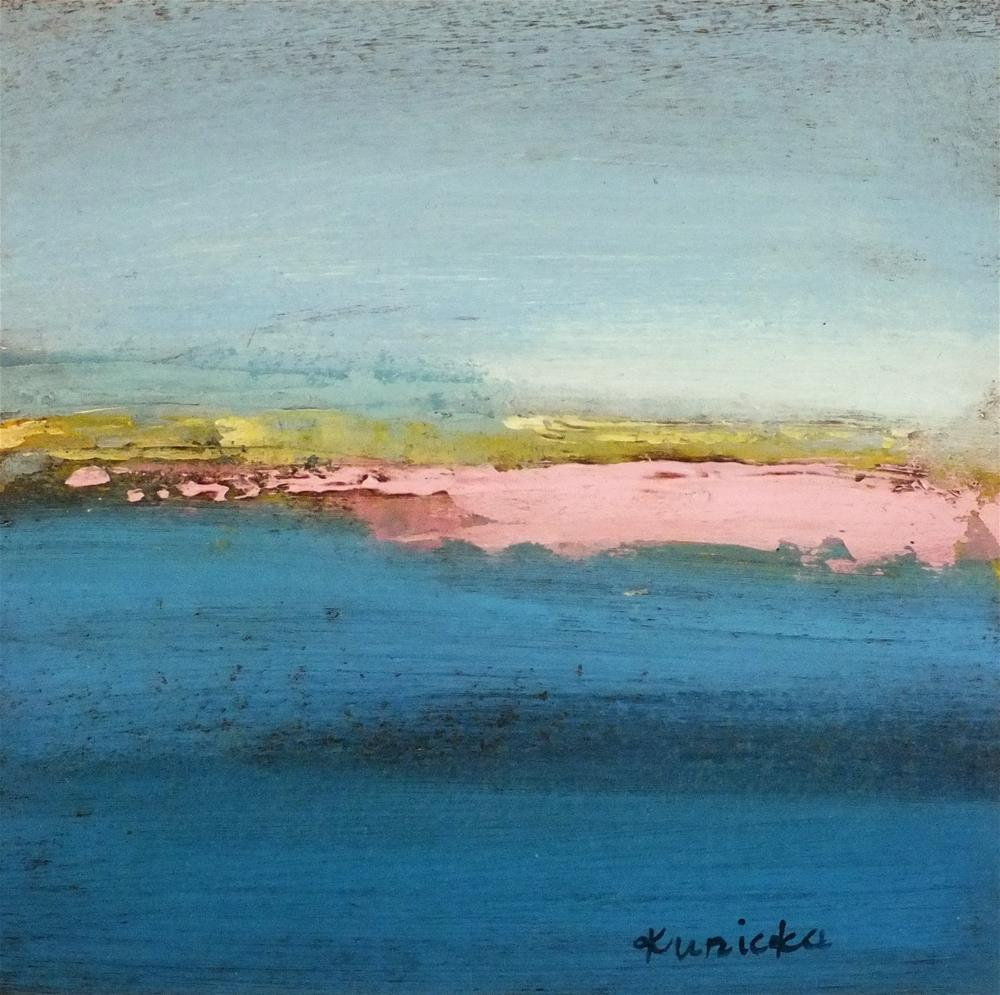 """Landscape 193"" original fine art by Ewa Kunicka"