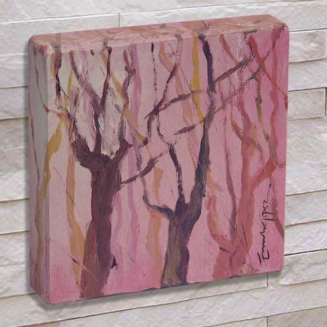 """""""Bosque 3"""" original fine art by Emilio López"""