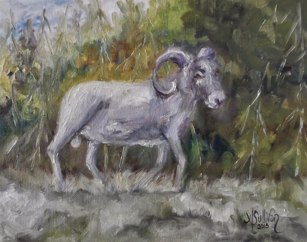 """Mountain Home sheep painting by Alabama Artist Angela Sullivan"" original fine art by Angela Sullivan"