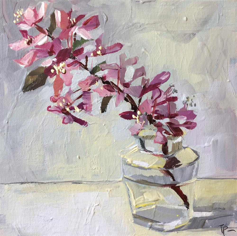 """""""Small Blossoms"""" original fine art by Teddi Parker"""