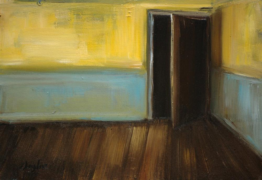"""Yellow and Blue Room"" original fine art by Angela Ooghe"