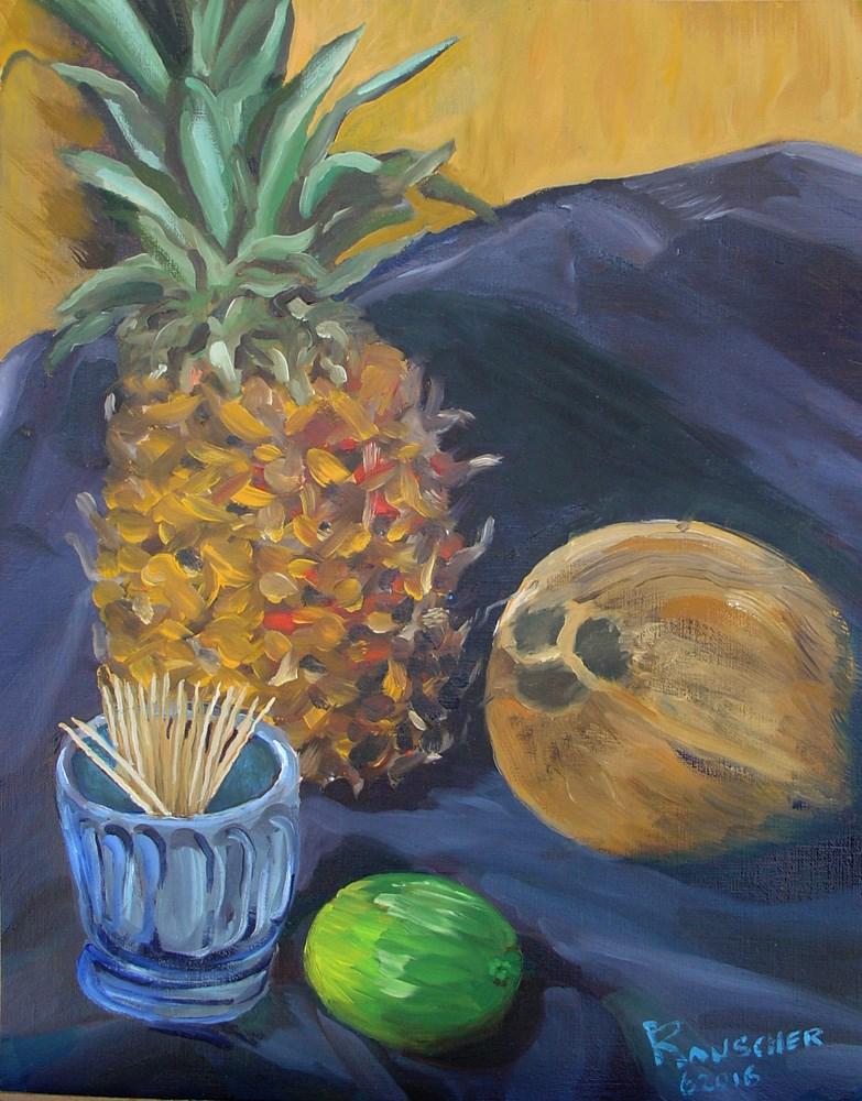 """""""Rum Ready"""" original fine art by Dave Rauscher"""