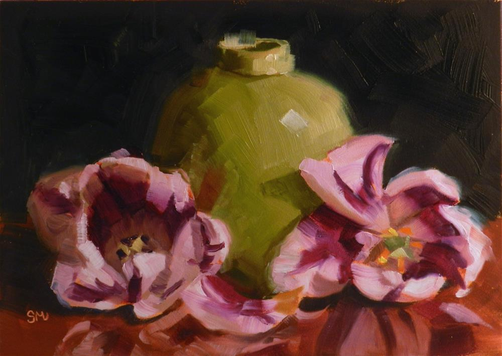 """Tulip Triangle"" original fine art by Susan McManamen"