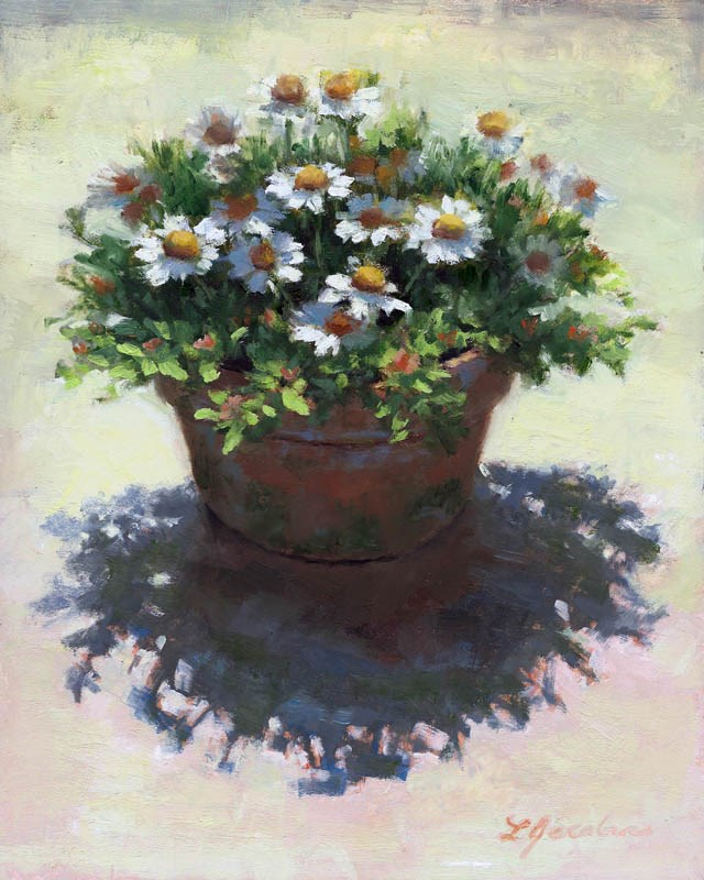 """Shadows of the Mayweed"" original fine art by Linda Jacobus"