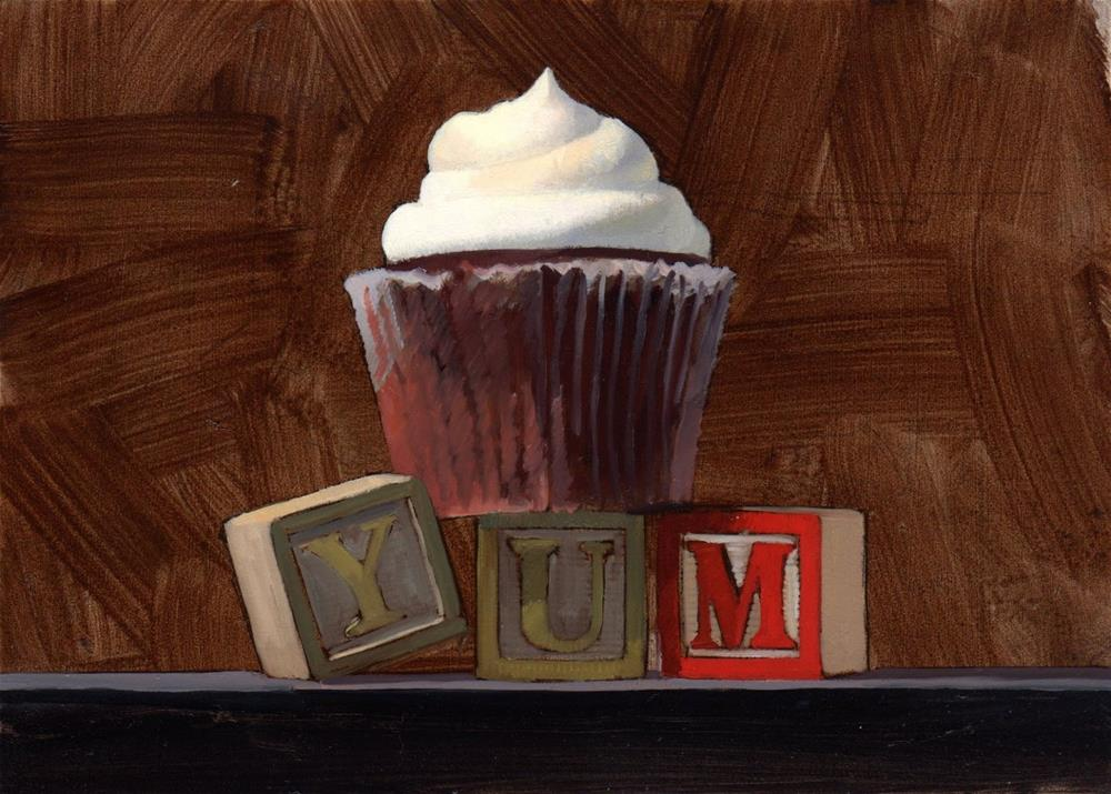 """#326 Yum Prep Study"" original fine art by Brian Burt"