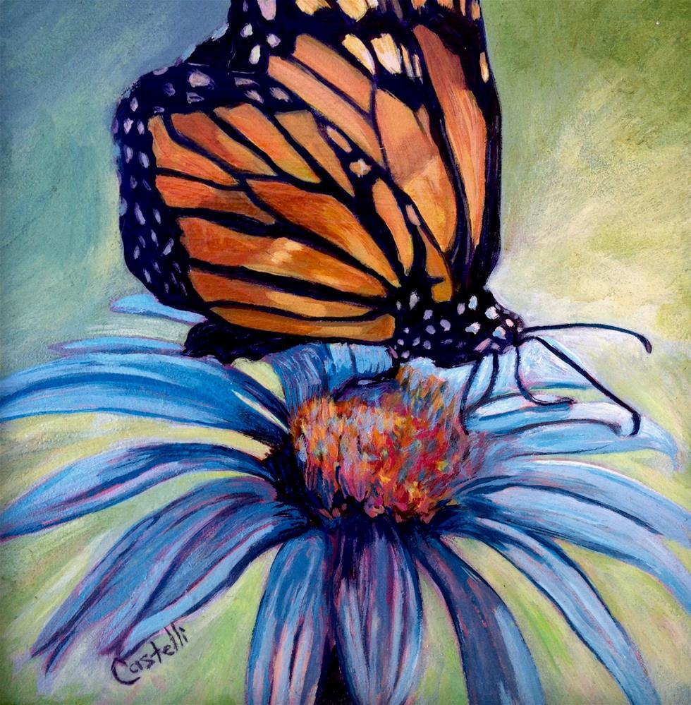 """Butterfly Royalty"" original fine art by Anna Castelli"