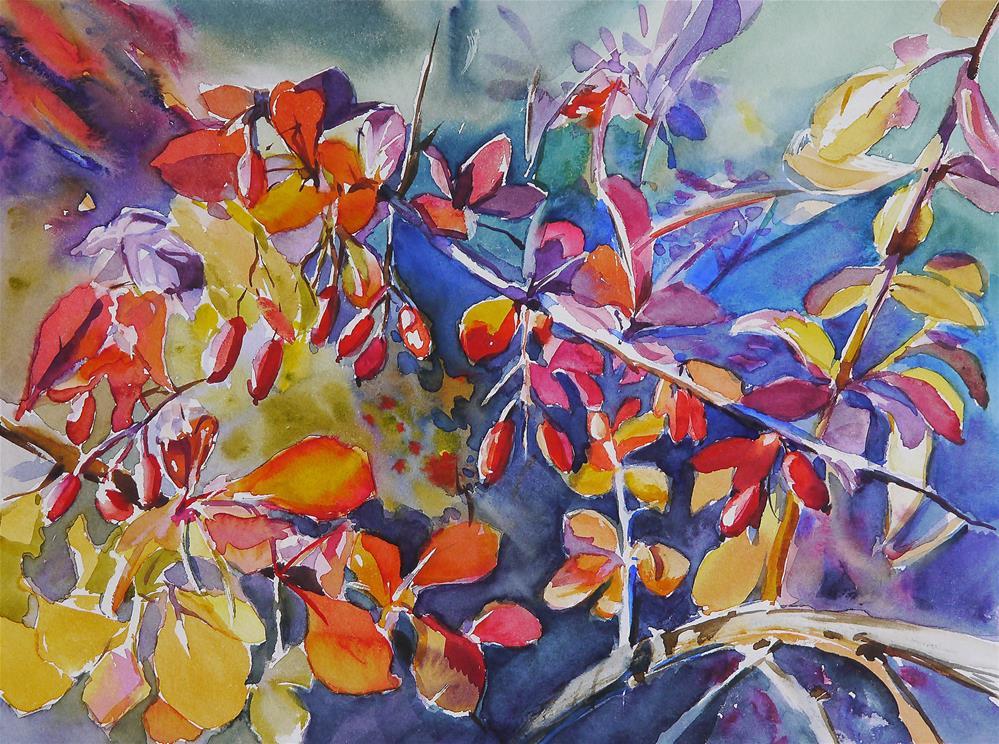 """""""flower_power"""" original fine art by Beata Musial-Tomaszewska"""