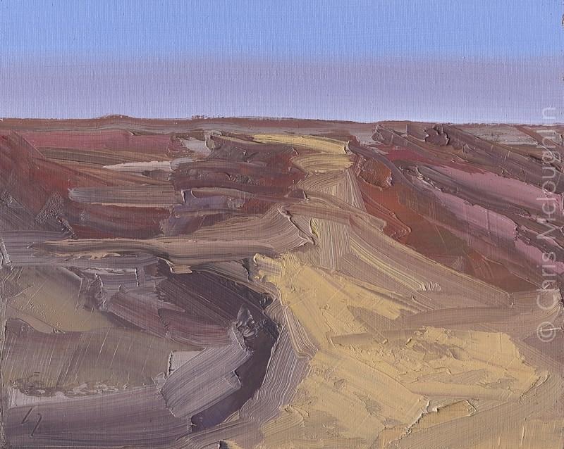 """""""A Sandy Highway"""" original fine art by Chris Mcloughlin"""