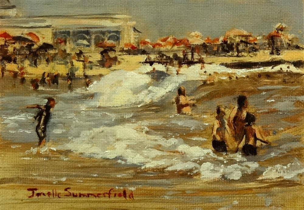 """Cape May Study II"" original fine art by Jonelle Summerfield"