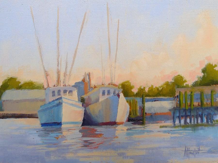 """Amelia Sunrise"" original fine art by Adam Houston"
