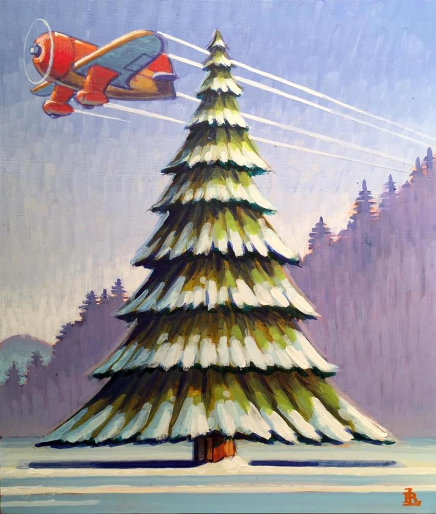 """January"" original fine art by Robert LaDuke"