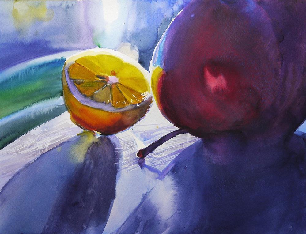 """""""evening date"""" original fine art by Beata Musial-Tomaszewska"""