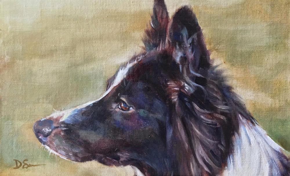 """Mac"" original fine art by Deborah Savo"