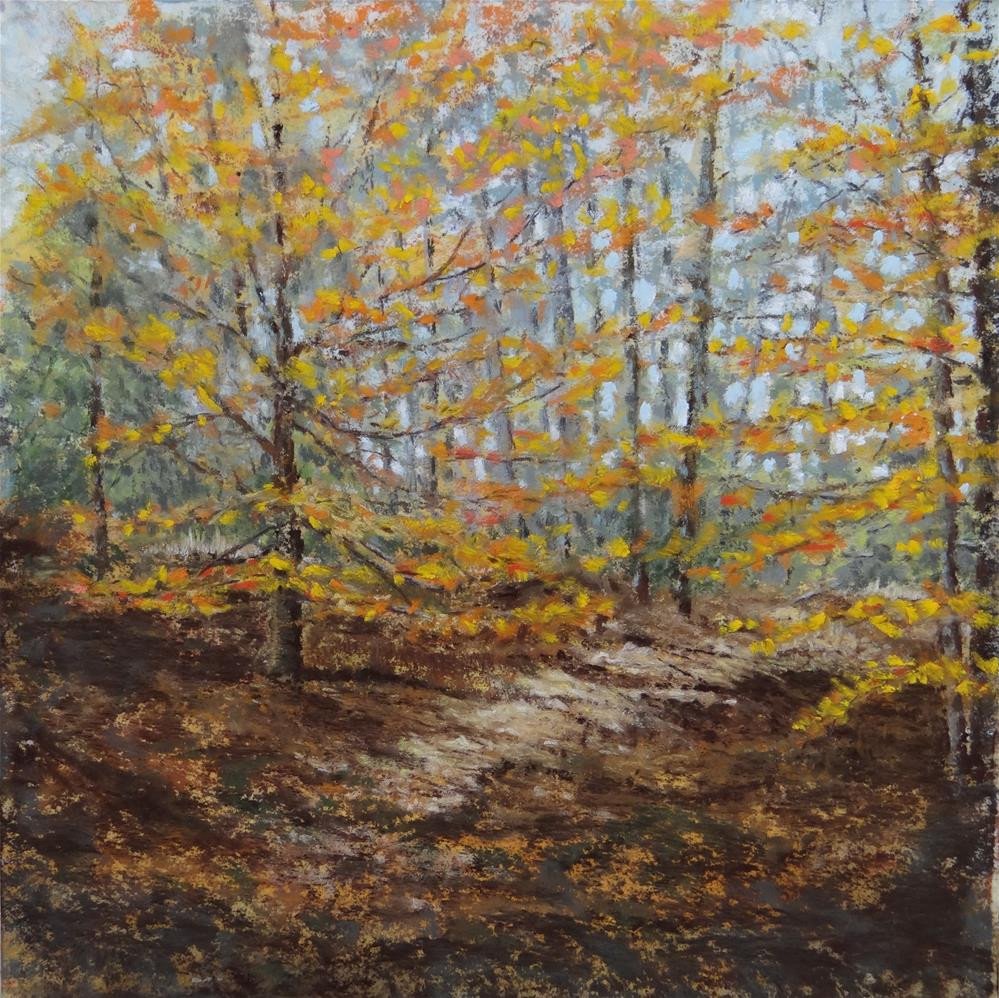 """Autumn in the East"" original fine art by Denise Beard"