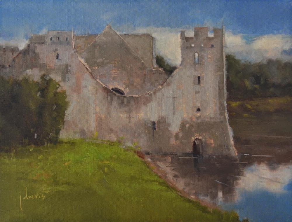 """Adare Castle"" original fine art by Julie Davis"