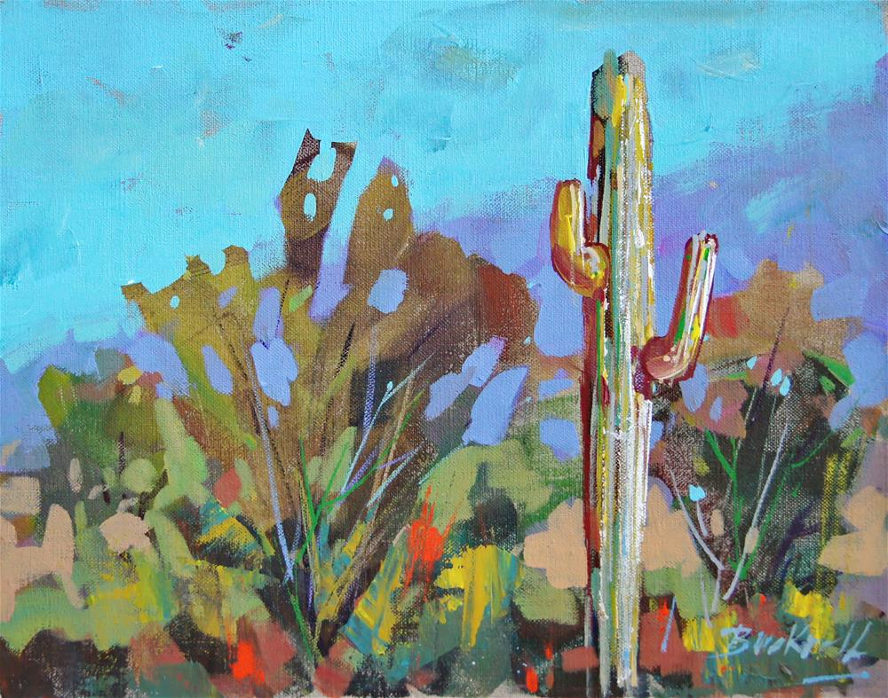 """Arizona Sketch"" original fine art by Brian Buckrell"