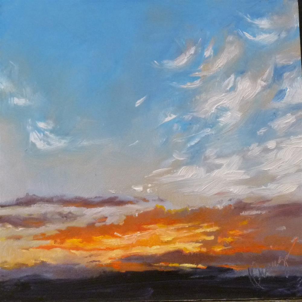 """Sky2"" original fine art by Sharman Owings"