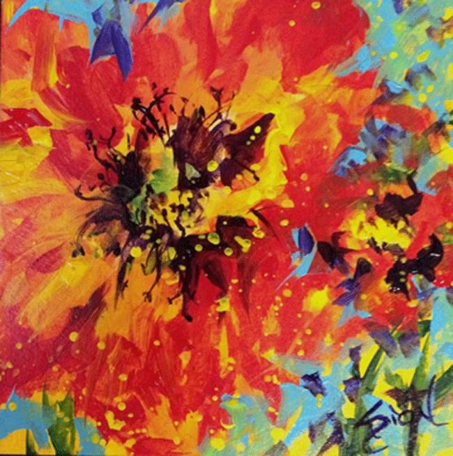"""""""Summer Fun"""" original fine art by Sue Dion"""