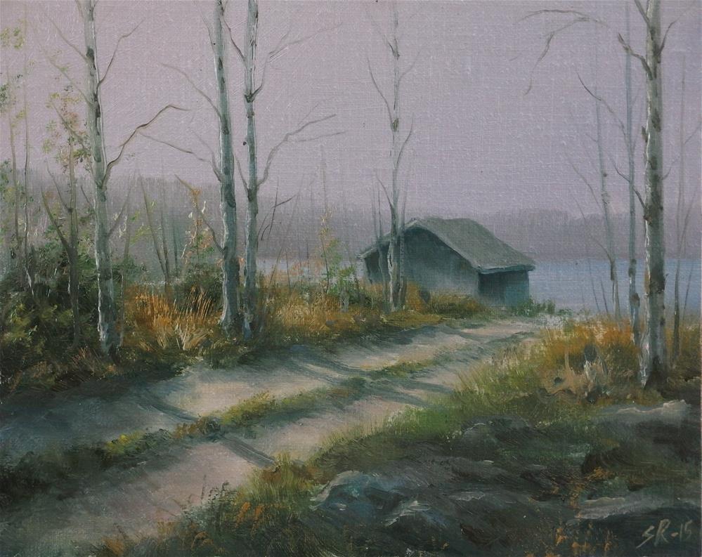 """""""Early spring"""" original fine art by Stig Rosenlund"""