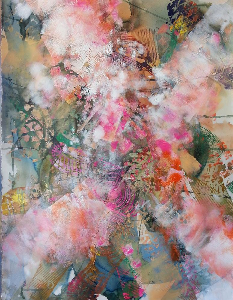 """""""Footprints"""" original fine art by Becky Chappell"""