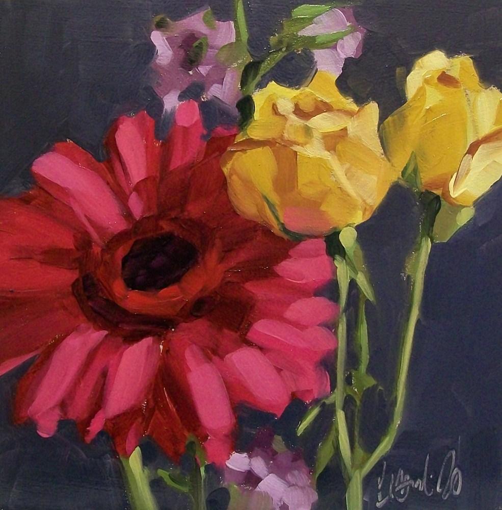 """Love of color"" original fine art by Brandi Bowman"