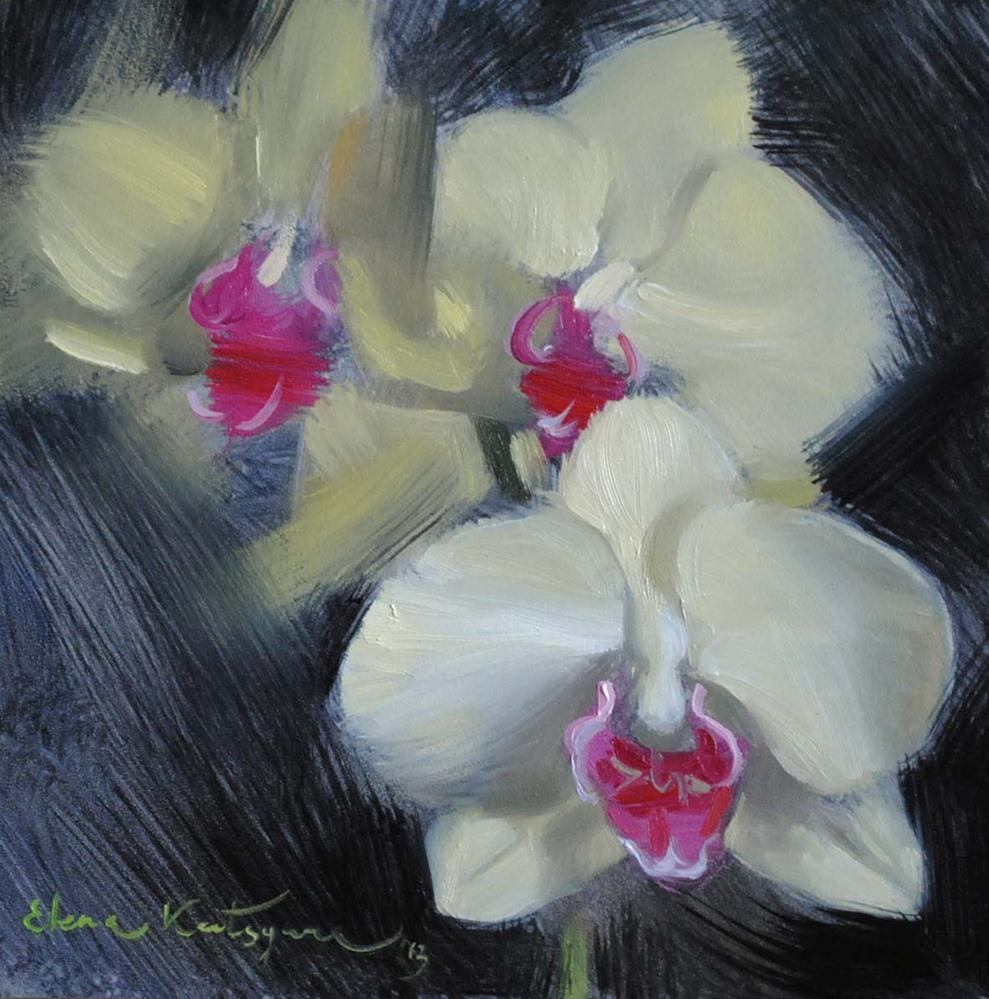 """Orchid"" original fine art by Elena Katsyura"