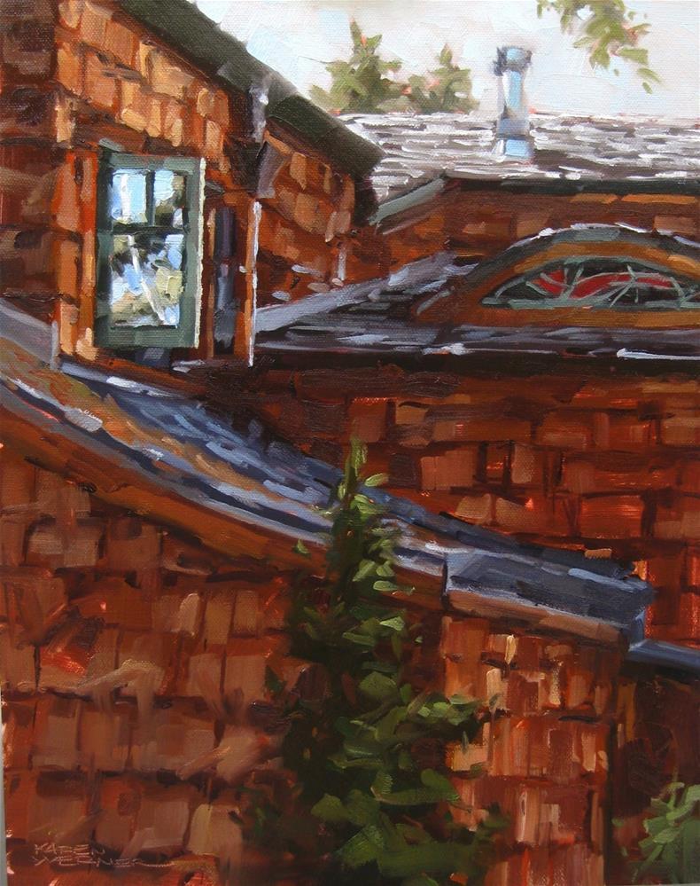 """Open Window"" original fine art by Karen Werner"