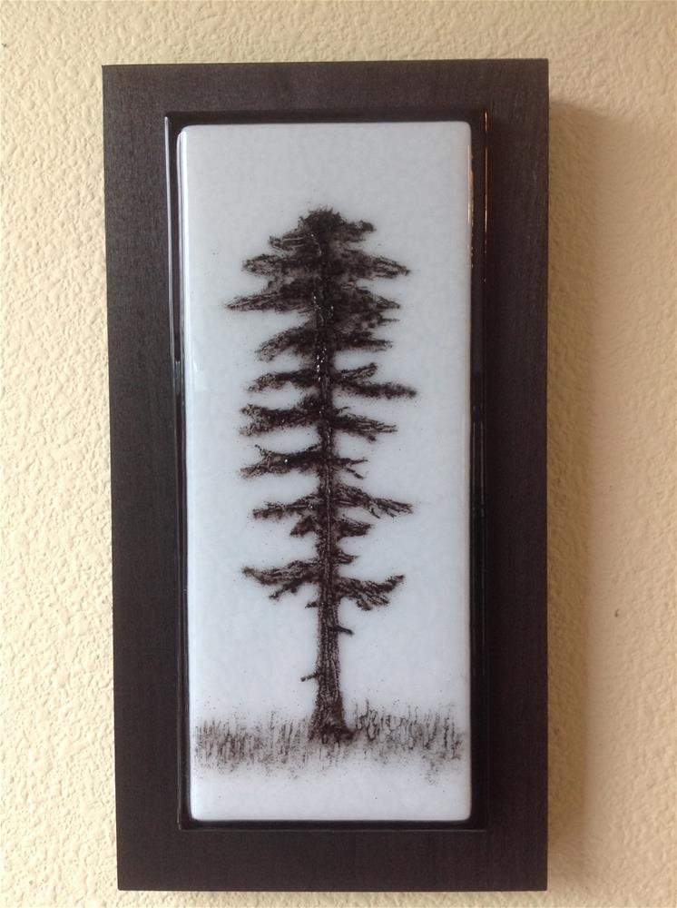 """""""NW Tree #3"""" original fine art by Calloway Meiners"""