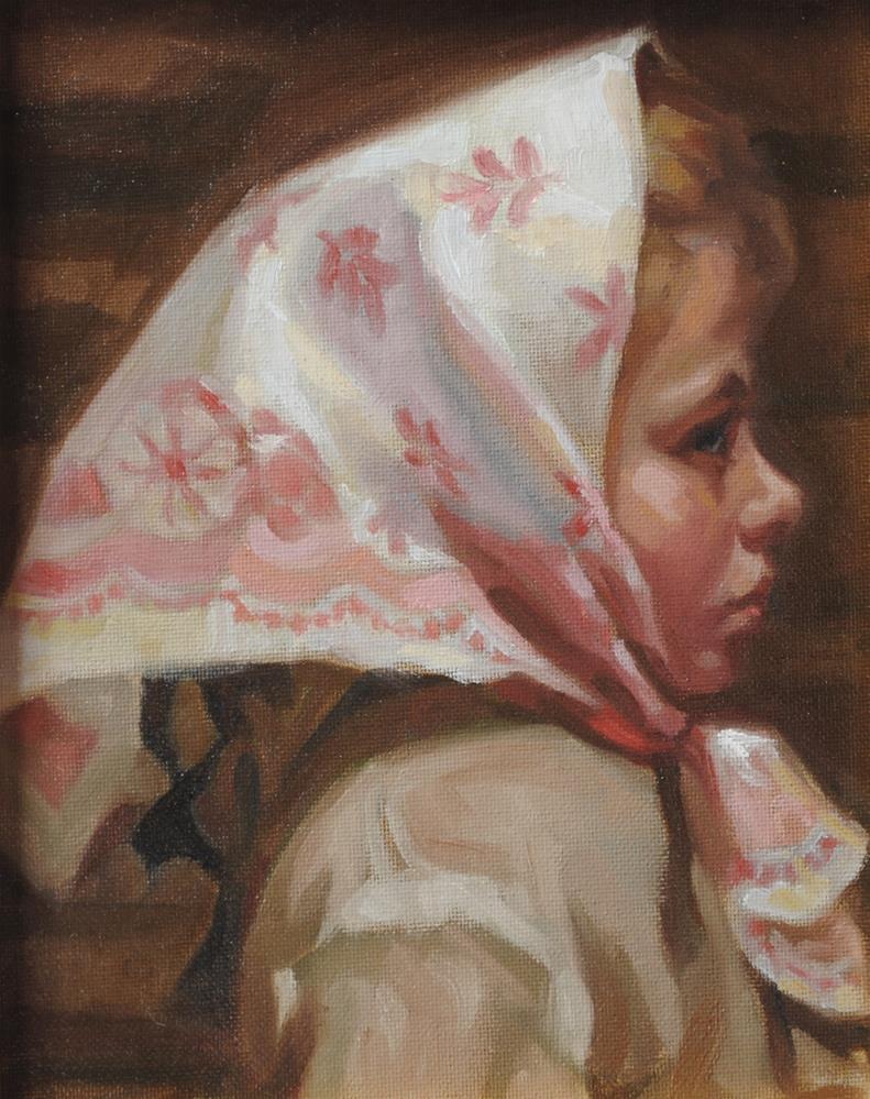 """After Boris Kustodiev #2"" original fine art by Cecile W. Morgan"
