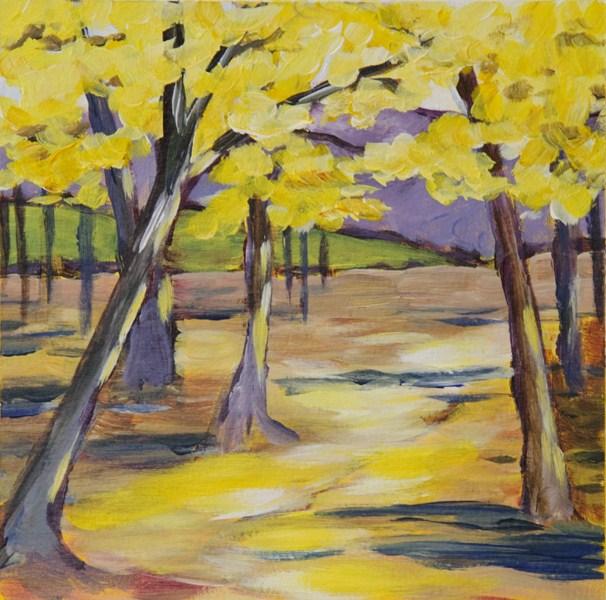 """""""Autumn Day"""" original fine art by Anna Vreman"""