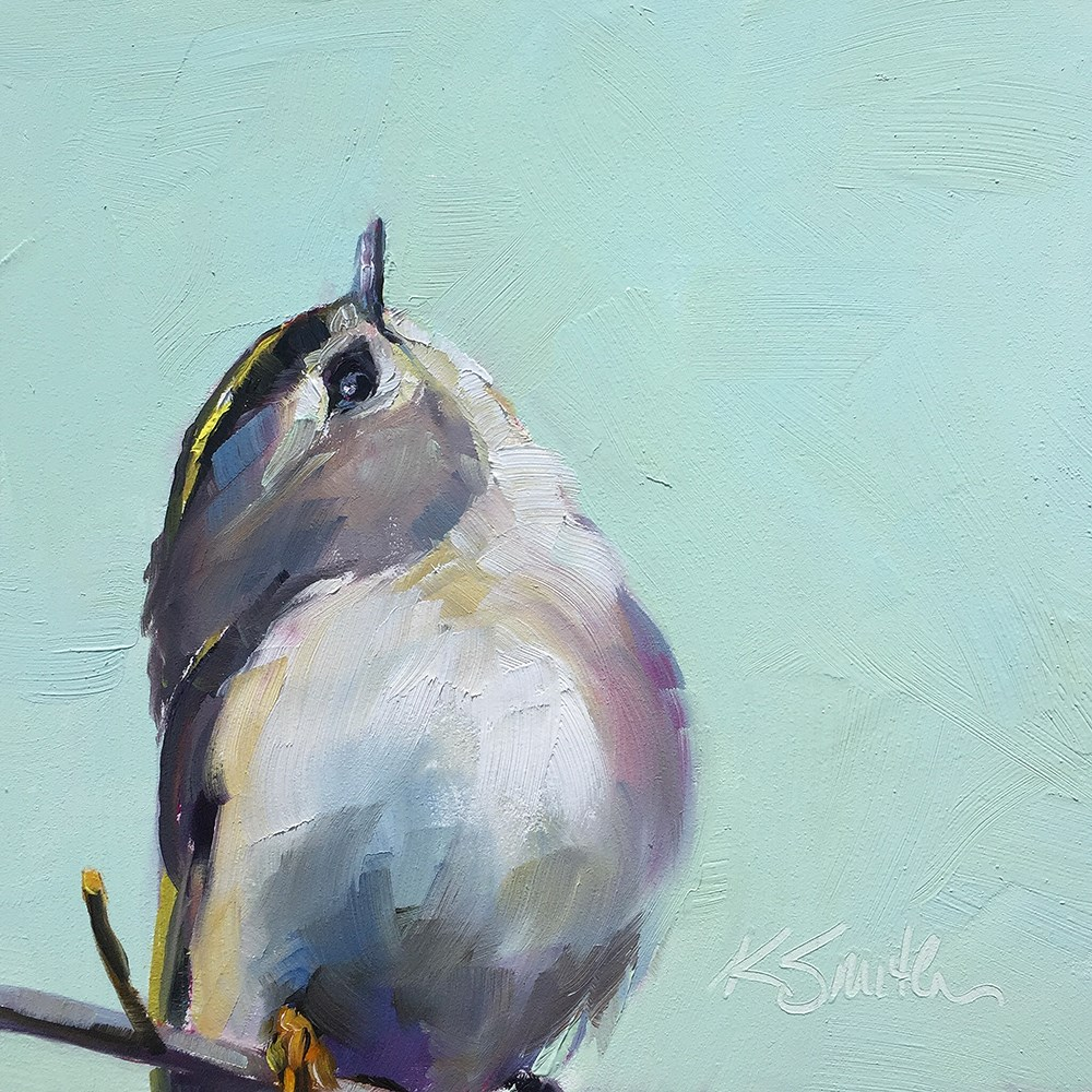 """lookin' up"" original fine art by Kim Smith"