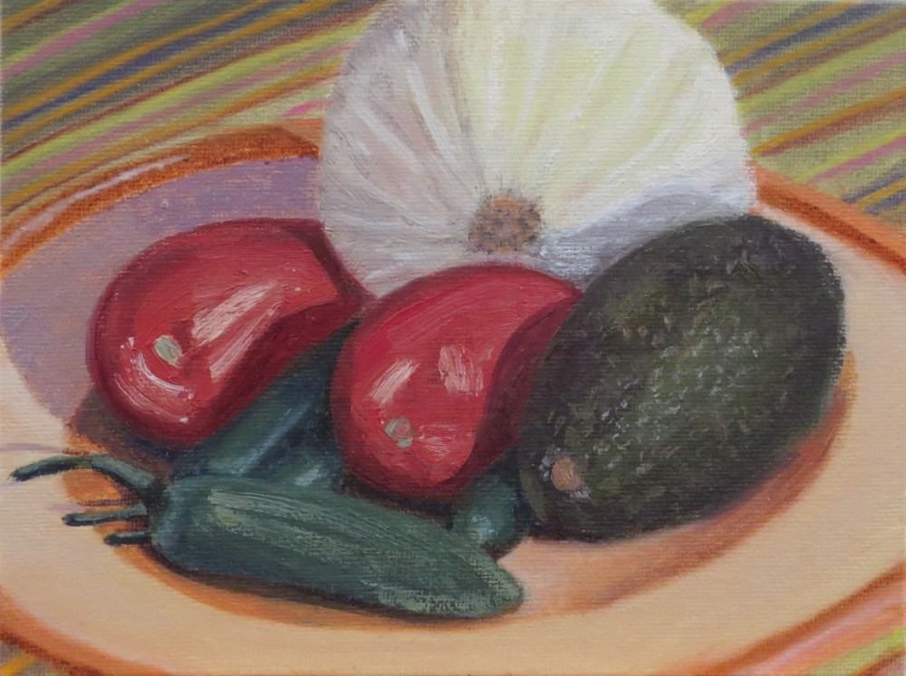 """What's for Lunch?"" original fine art by Richard Kiehn"