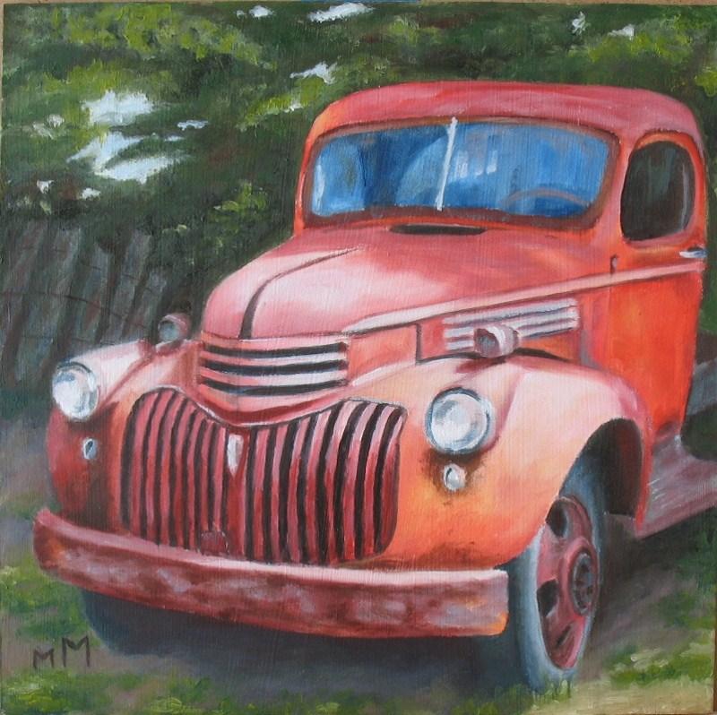 """Retired"" original fine art by Melisa McCurley"