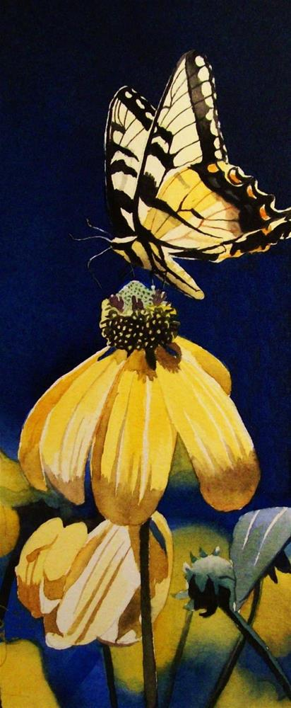 """Thirty Paintings in Thirty Days ~ Day Thirteen"" original fine art by Jacqueline Gnott, whs"