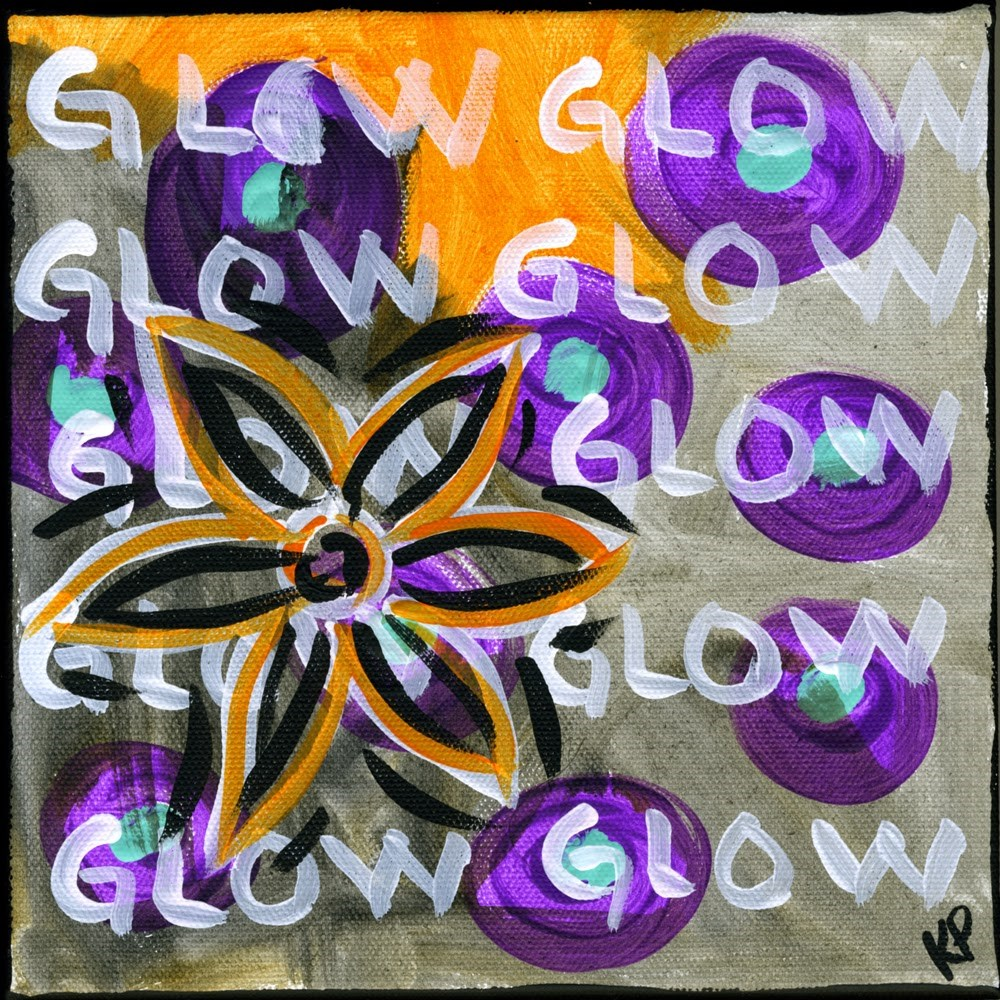 """Glow"" original fine art by Kali Parsons"