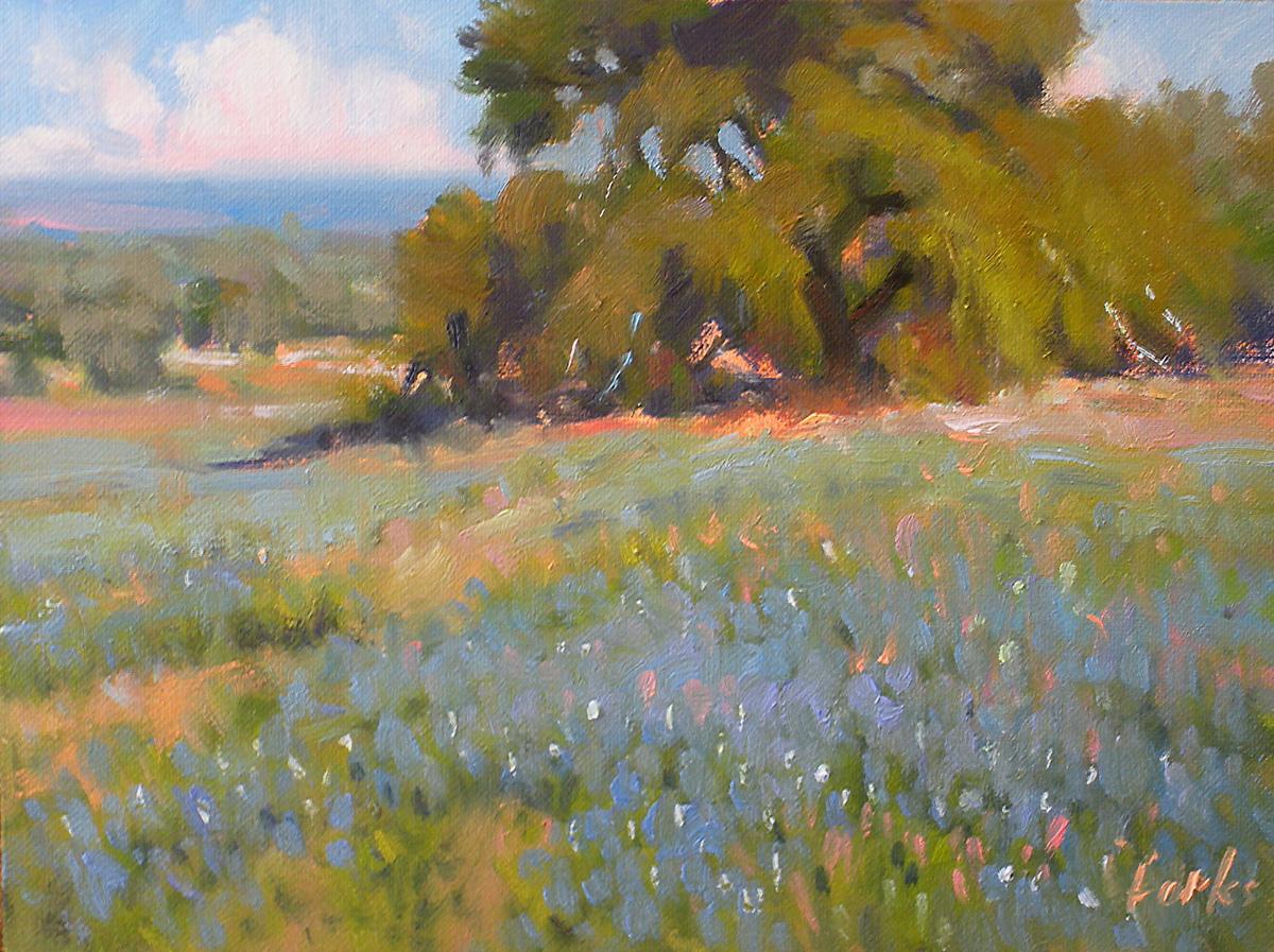 """A Lofty Oak"" original fine art by David Forks"