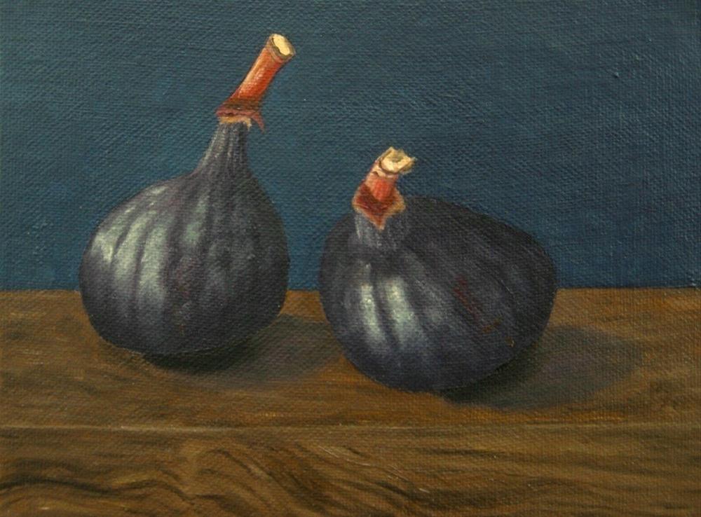 """""""Avignon Figs"""" original fine art by Pera Schillings"""