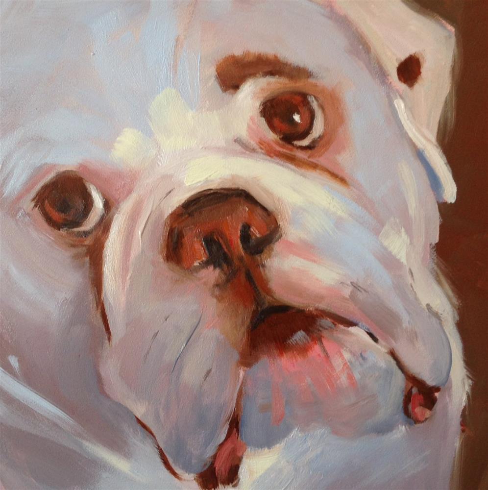 """""""Bob"""" original fine art by Patty Voje"""