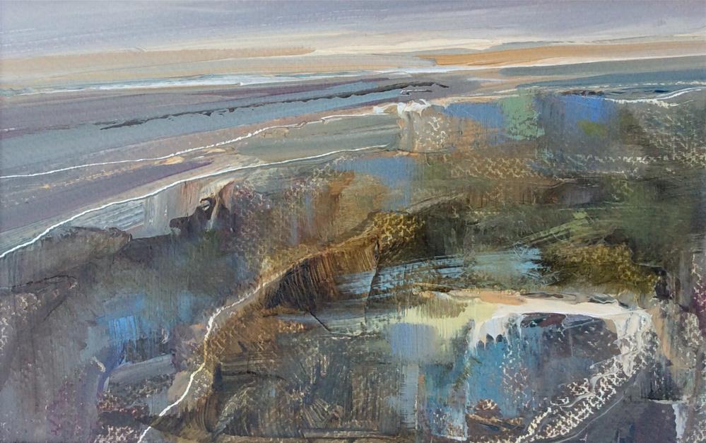 """""""Ebb Tide"""" original fine art by Anne Wood"""