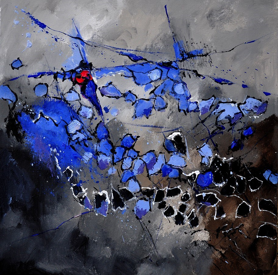 """abstract 884110"" original fine art by Pol Ledent"