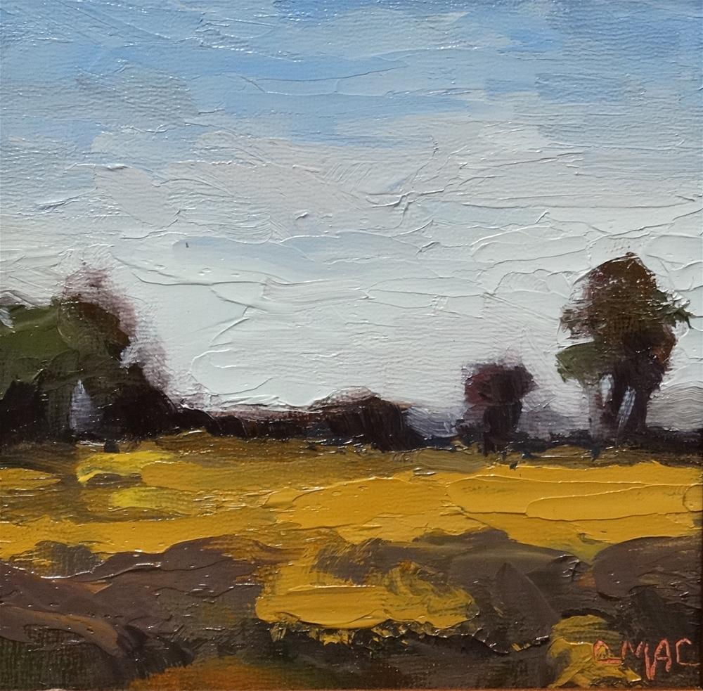 """Landscape 8"" original fine art by Carolyn McDonald"