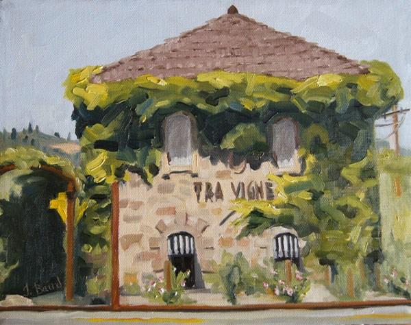 """Tra Vigne"" original fine art by Jeanette Baird"