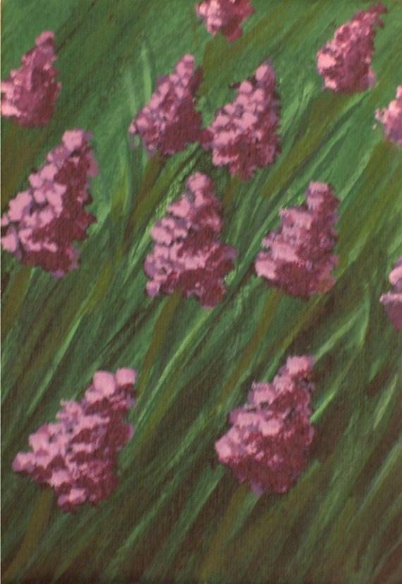 """Grape Hyacinth"" original fine art by Amy VanGaasbeck"
